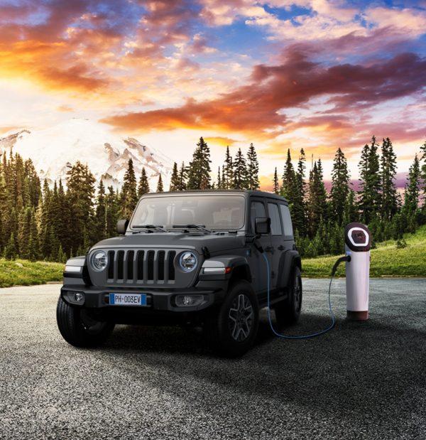 Jeep Wrangler Plug-in hybrid