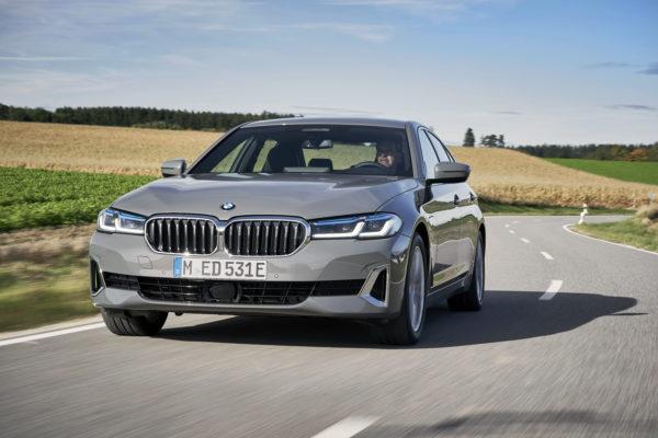 BMW Serie 5 Plug-in hybrid