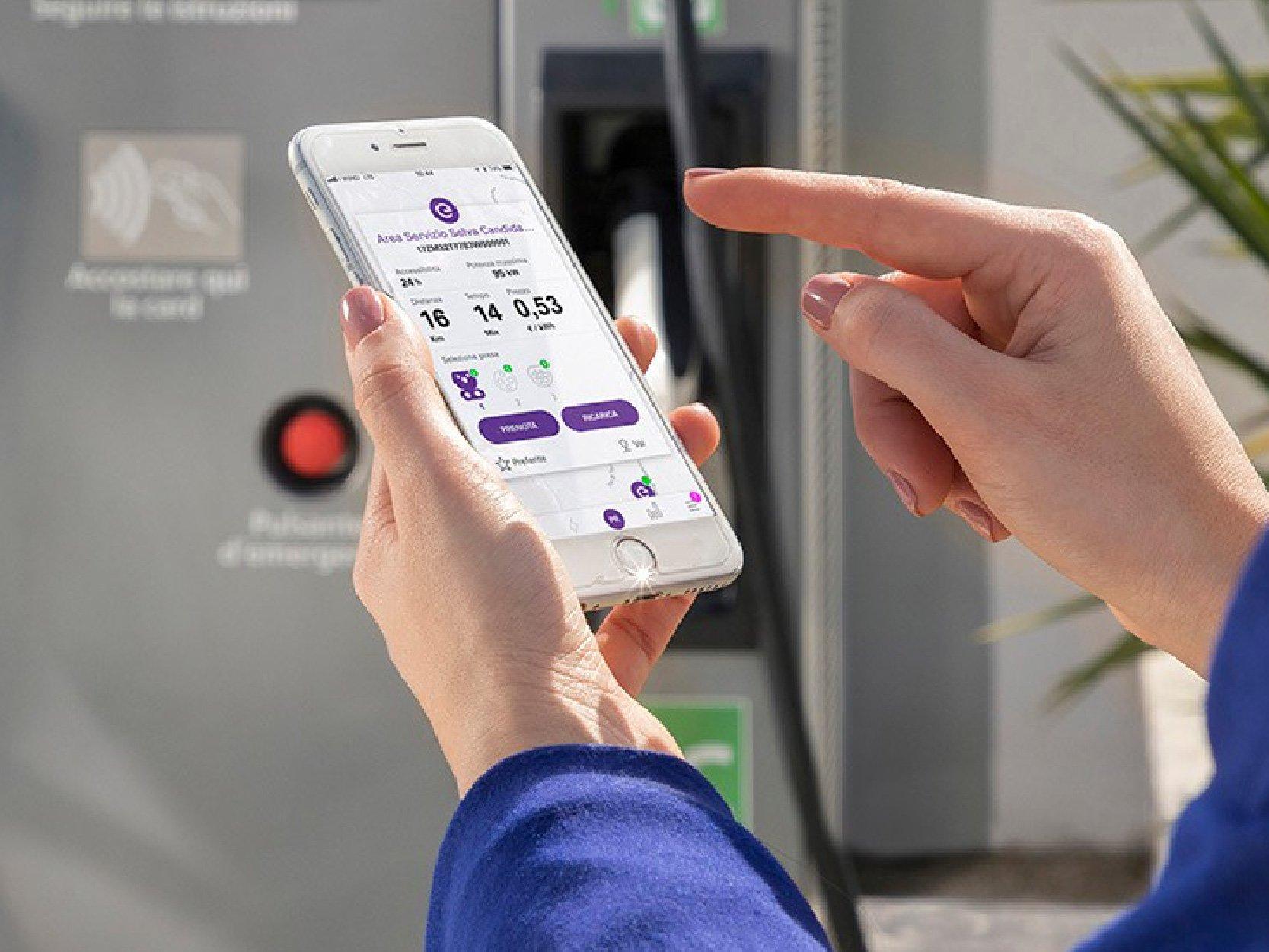 pagamento wall-box con app mobile